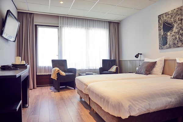 Single hotelroom, double hotelroom in hotel Aparthotel Delden - Hof van Twente